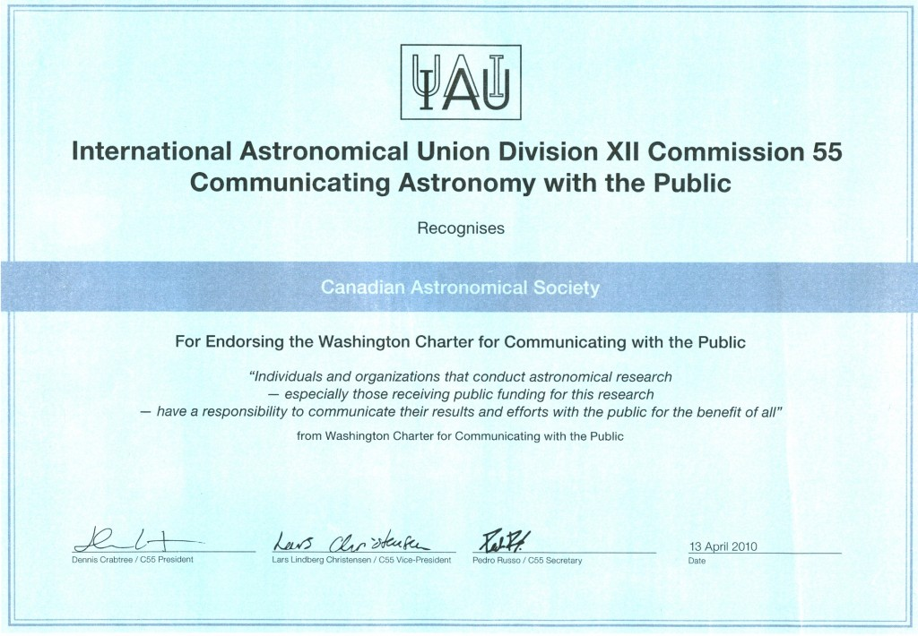 certificate_IAU