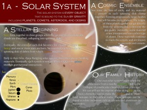 Solar System poster (facilitator: John Moores; Planetary Scientist with the Lassonde School of Engineering)
