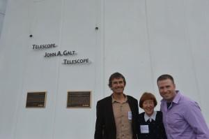 Sean Dougherty, Rena Galt & Tim Robishaw