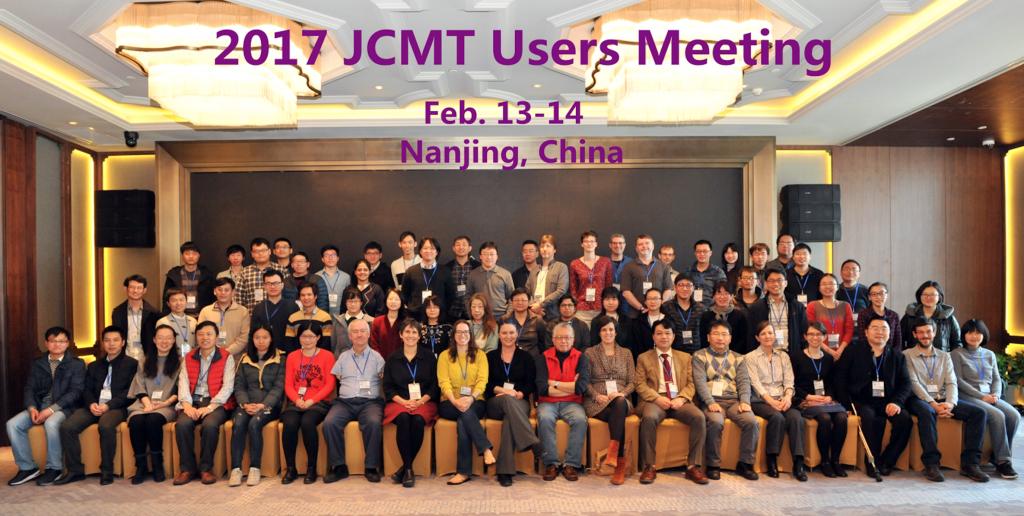 JCMTUsersMeetingParticipants-Nanjing2017