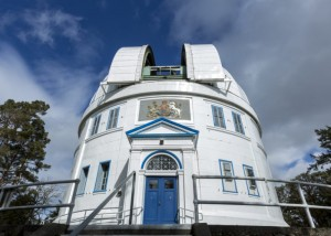 The Plaskett telescope, today.
